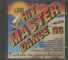 Hit Master Dance 96 - Stefano Secchi/Dj Dado/Stars On Mix/Ryan Paris Cd Nuovo