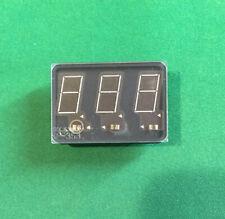 Beckman SP-353 7 Segment Panaplex Display - 3 Digits -Digital Neon Gas Discharge