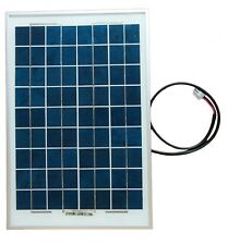 Solar Panel with controler  capacity 10W, work on 12V or 6V.