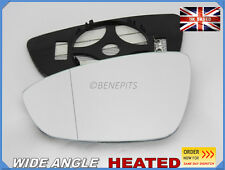 For VW Scirocco coupe 2008-2016 Wing Mirror Glass Wide Angle HEATED Left /1047