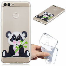 Slim Flexible Rubber Soft Case Phone Back Cover For Huawei P Smart Honor 6A 7X