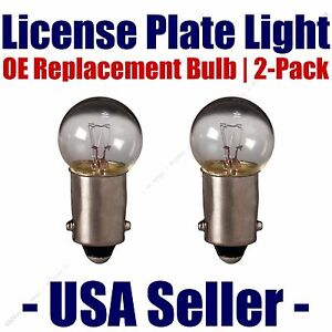 License Plate Bulb 2pk OE Replacement Fits - Listed Volvo Vehicles - 57