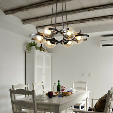 Large Chandelier Lighting Glass Pendant Lights Modern Ceiling Light Kitchen Lamp