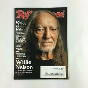 August 2014 Rolling Stone Magazine Willie Nelson Last Tango in Kabul