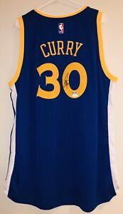 Stephen Curry Signed Warriors Adidas Autographed Swingann Jersey JSA & CURRY COA