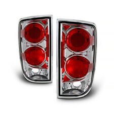 For Chevy GMC Blazer Jimmy 1995-2004 Sterling Chrome Tail Light Rear Brake Pair