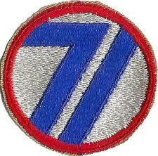 US ARMY 71ST INFANTRY DIVISION UNIT PATCH WWII (ORIGINAL)