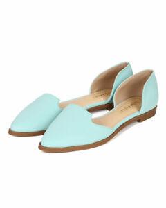 Liliana Julique-2 Nubuck Pointy Toe Slip On Venetian Loafer Flat