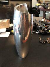 Nambe 6192 Metal Alloy Spiral Vase Measuring 10-1/2'' Tall Heavy 1998 Version