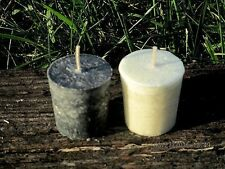 Black & White Altar Candle Set ~ Witchcraft Candles ~ Witchcraft Supply ~ Wicca