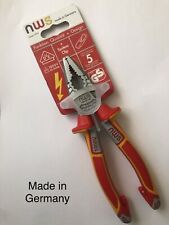 NWS Electricians Combination Pliers 109-49-VDE-180-SB VDE 1000V 180MM