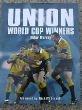 SIGNED - Terry CURLEY UNION WORLD CUP WINNERS hard cover book