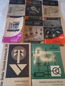 Radio Praktiker Bücher Sammlung Wobbelsender Halbleiter Datenbuch