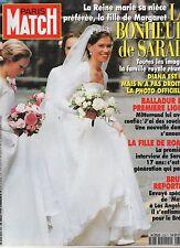 paris match n°2357 / SARAH bruel romy /  1994