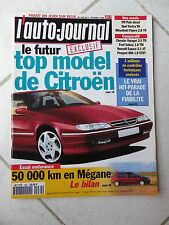 L'Auto-Journal 1996 No 430 Renault Megane Opel Vectra V6 Mitsubishi Pajero Polo