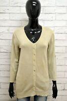 Cardigan CONTE OF FLORENCE Donna Taglia L Maglia Pullover Sweater Woman Cotone