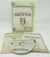 The Elder Scrolls IV: Oblivion (Xbox 360) Complete W/ Map and Instruction Book