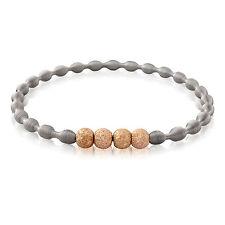 Echte Edelmetall-Armbänder ohne Steine im Armreif-Stil aus Edelstahl für Damen