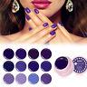 Soak Off UV Gel Paint Purple Series UV LED Nail Art Draw Painting Acrylic Colors