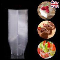 Drink sample cups x 75 clear flexible plastic 1oz farmers market craft fairs