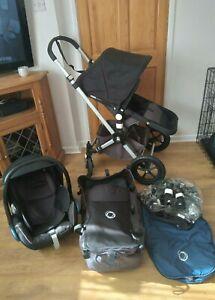 Bugaboo Cameleon 3 - Full Travel System / Set, Baby Pushchair, Max Cosi Car Seat