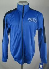 Oklahoma City Thunder Men's MT Majestic Full-Zip Track Jacket NBA Blue