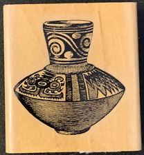 Stamp Cabana Ancient Pot Rubber Stamp