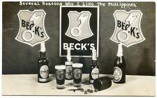 """RPPC Advertising """"Becks Beer"""""""