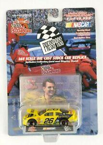 NEW 1999 Limited Edition Racing Champions Press Pass Johnny Benson #26 Cheerios