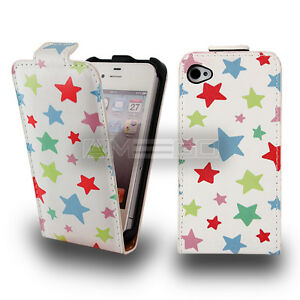 Stars Graphic Prints Flip leather case for smart phone Samsung Sony Apple UKFREE