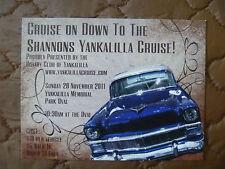 "PROMO / ADVERTISING CARD YANKALILLA CRUISE 2011....55 CHEVY...""CRUZIN"""