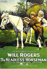 The Headless Horseman (1922) Will Rogers- Silent and Rare