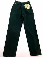 NWT BOOM BOOM BY SIMON PORA WOMENS GREEN COTTON HIGH WAIST SKINNY JEANS SIZE 7/8