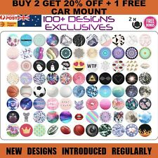 Popsocket Mobile Phone Grip Mount Stand Holder Popsockets iPhone Car Mount