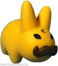 Smorkin Labbit Mini Series 4 - Yellow Mustache 2/25 Figure by Kozik & Kidrobot