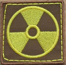 Patch Stripe Chernobyl Nuclear Power Plant Radiation Pollution Stalker Ukraine
