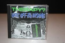 THERAPY? Hats off to the Insane CD Indie Rock A&M Records 540 379-2 SCREAMAGER