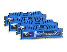 32GB G.Skill DDR3 PC3-12800 1600MHz RipjawsX Series CL9 Quad Channel Kit 4x8GB