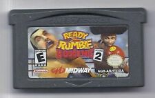 Nintendo Gameboy Advance Ready 2 Rumble Boxing Round 2 Game Rare HTF