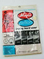 Magla Teflon DuPont Ironing Board Cover #870 Usa 54� Vintage 1962