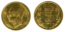 5 Francs 1988 Jean Lussemburgo Luxembourg #8793