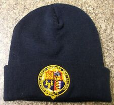 M&GN Beanie Hat with Embroidered Crest
