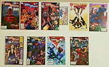 Teen Titans Lot of 9- Wizard 1/2 with COA (2003) Ravager, Graduation Day #1&2