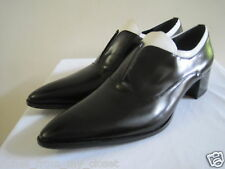 PRADA Black/White Laceless Pointy Toe Oxfords Shoes Size 39.5/9.5, New w/o Box