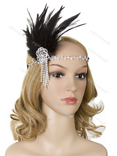 Vintage 1920s Flapper Gatsby Headpiece Headband Party Hair Wedding Accessories