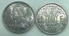 Reunion 1948 Franc Coin,UNC