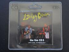 "Living Colour/The Live CD 3-Track 3"" Promo limited Edition SAMP 1315/MCD"