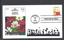 4761 * VINTAGE SEED PACKET STAMPS * COSMOS * 2013 ISSUE *