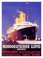 NORDDEUTSCHER LLOYD BREMEN REEDEREI H. Action 1936 Hapag-Lloyd NDL Navigation