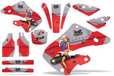 Honda CR125 CR250 Graphic Kit Dirt Bike Wrap MX Stickers Decals 2000-2001 TBOM R